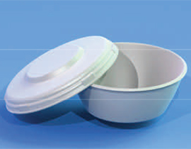 "6"" Plain Lid fits 24 oz. Bowl"